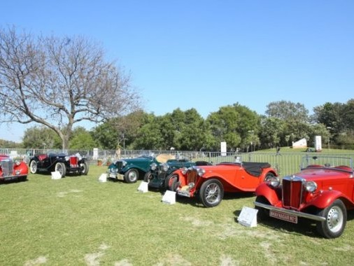 MG connects with its classic car owners at 21 Gun Salute Rally