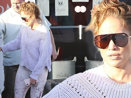 Jennifer Lopez pictured out for the first time after Oscars snub as she hits the gym