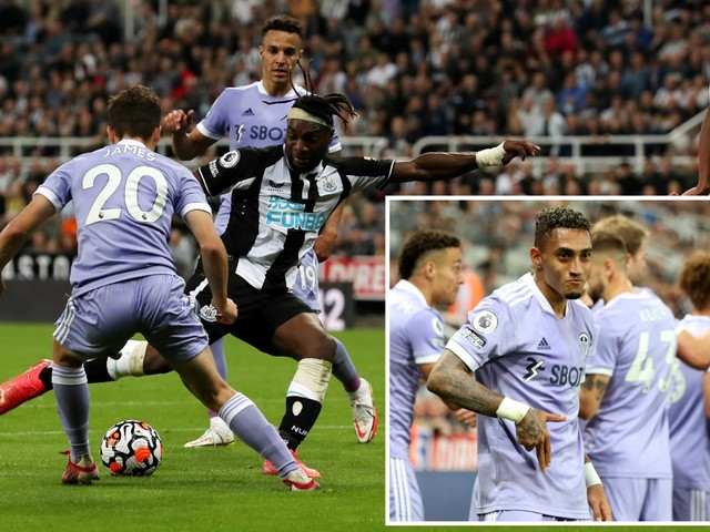 Newcastle 1 Leeds 1: Pressure eases slightly on Steve Bruce but fans still boo and protest in stands and want him out