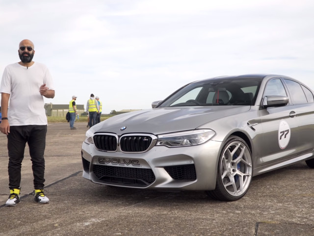 VIDEO: Evolve Automotive hits 200 mph in Stage 2 BMW M5