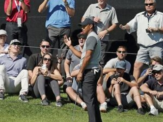 A slow start and decent score for Tiger's return to Riviera