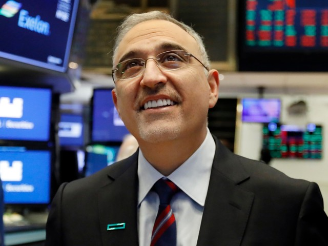 The CEO of Hewlett Packard Enterprise tells us why the company is 'under-appreciated' and how it can beat Amazon in a market that's bigger than cloud computing (HPE)