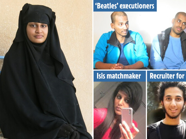 Shamima Begum's return to the UK 'puts lives at risk' as 150 ISIS killers could demand the same