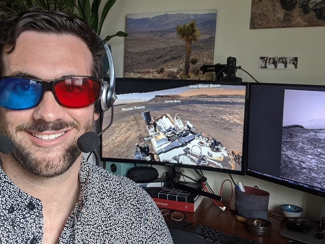 3D glasses, double headsets, and rock drilling: NASA engineers told us what it's like to drive a Mars rover from home during the pandemic