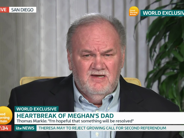 Thomas Markle is still running to TMZ to act like he's the biggest victim