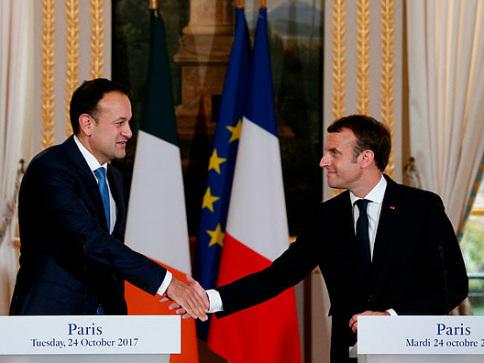 Macron meets resistance from Irish PM on digital tax