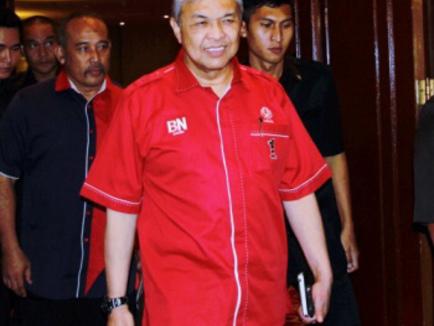 Johor Sultan meets DPM Ahmad Zahid