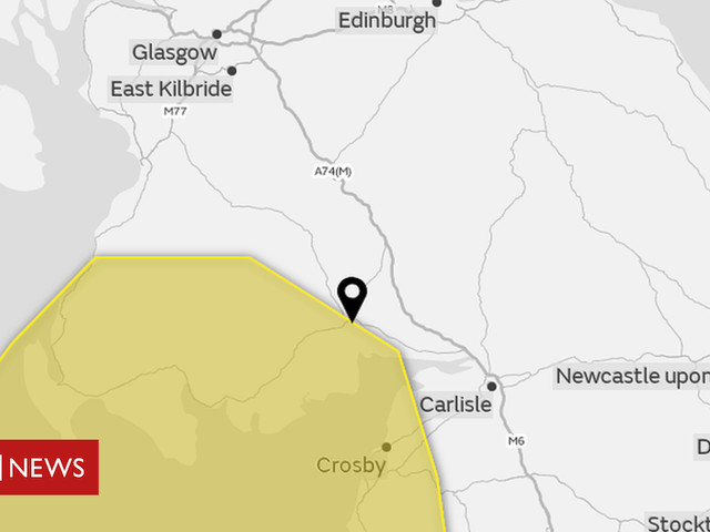 Storm Helene wind warning issued