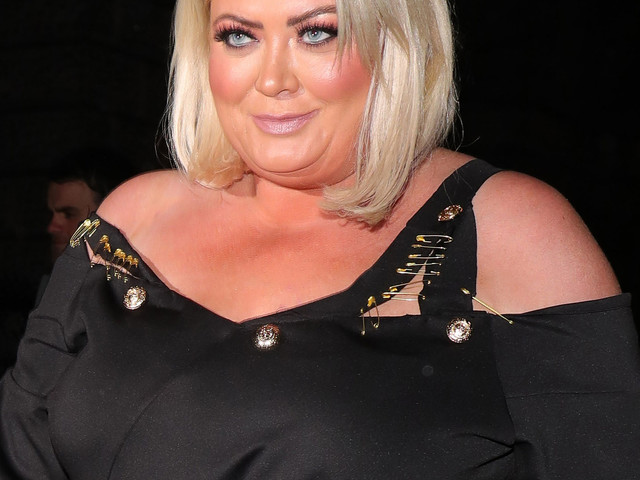 Gemma Collins hits the treadmill in heels 'to lose weight' as she shares backstage look at her new TV show
