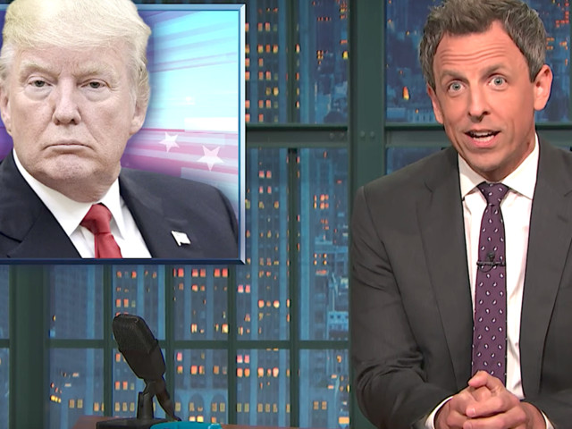 Seth Meyers Zings Donald Trump With DJ Khaled's Famous Catchphrase