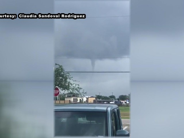 Funnel clouds and waterspouts reported across southeast Texas