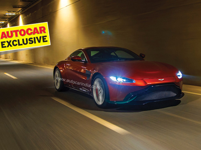 Review: 2019 Aston Martin Vantage India review, test drive
