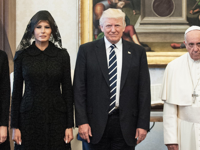 Donald Trump's Meeting With Pope Francis Was Full Of Awkward Moments