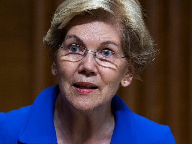 Elizabeth Warren laid into Amazon and Facebook for trying to sideline new FTC chair Lina Khan. Both companies 'fear' Khan's antitrust expertise, she said.