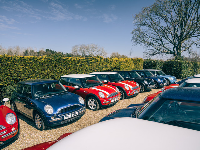 Y the obsession? The most prolific BMW Mini collectors