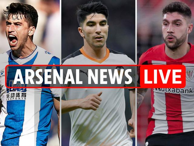 5.30pm Arsenal news LIVE: Soler, Nunez and Roca £97m triple-transfer, Torreira £35m AC Milan bid