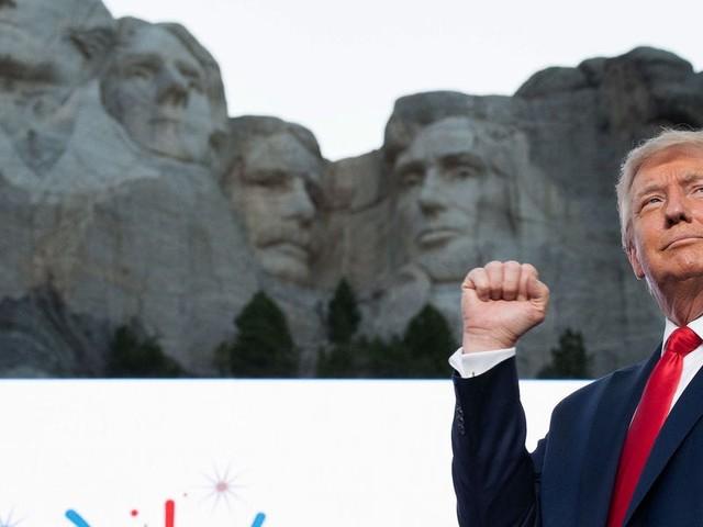 The GOP's platform is… Donald Trump