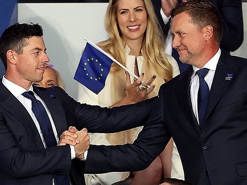Rory McIlroy paired with Ian Poulter for opening morning of foursomes at the Ryder Cup