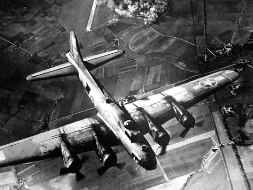Allied bombing raids in Second World War were so powerful they sent shockwaves to the edge of space
