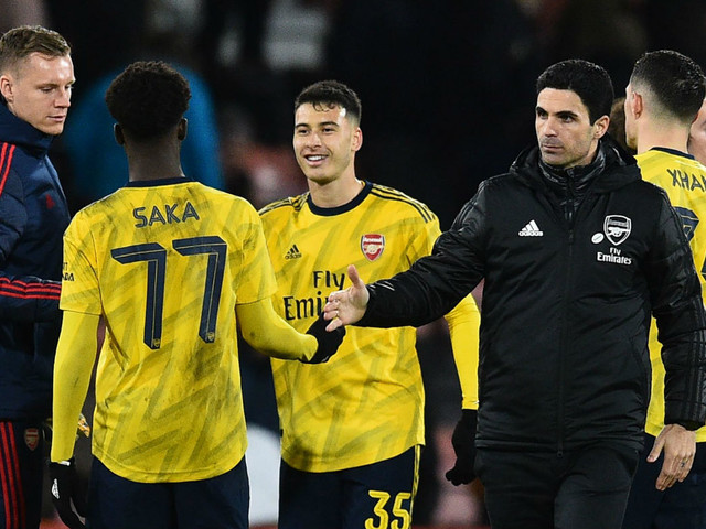 FA Cup: Mikel Arteta delighted with the courage of Arsenal's young guns