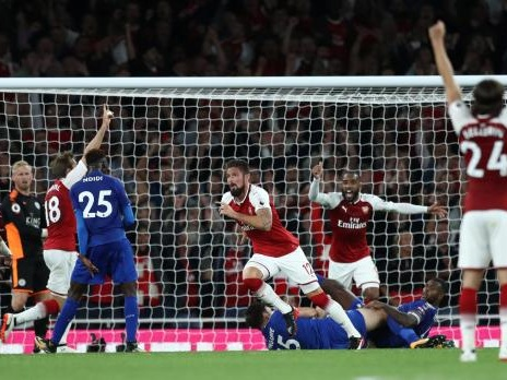 Watch: Arsenal open new season with thrilling victory