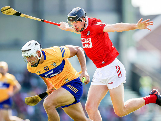 13-man Cork survive Clare test in dramatic finish to All-Ireland hurling qualifier