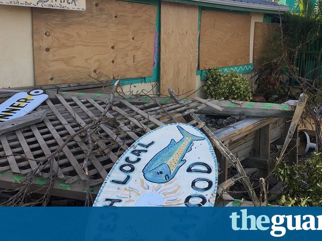 The Florida Keys are the canaries in the climate-change coalmine | Joanna Guthrie