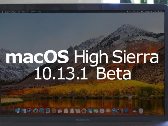 Apple Seeds Third macOS High Sierra 10.13.1 Beta to Developers