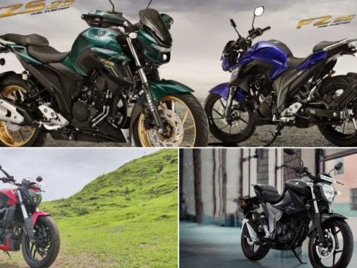 Specs & Features Comparison: Bajaj Dominar 250 Vs Yamaha FZ25 Vs Suzuki Gixxer 250