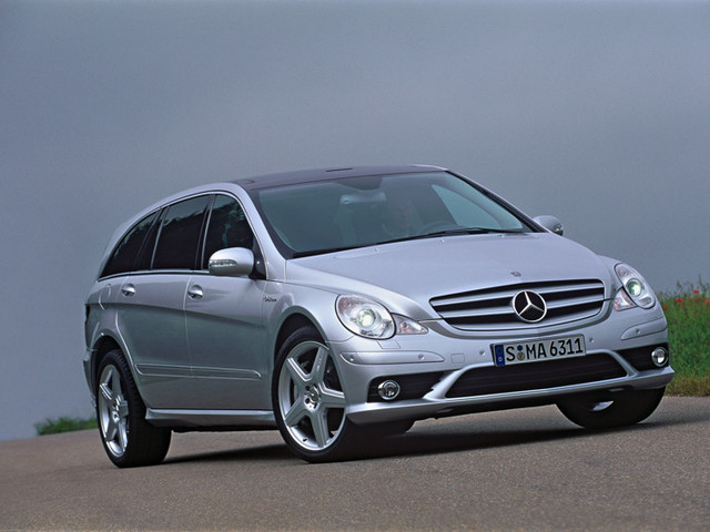 One of the Rarest AMG Model in History is Actually a Minivan: The Mercedes-Benz R 63 AMG