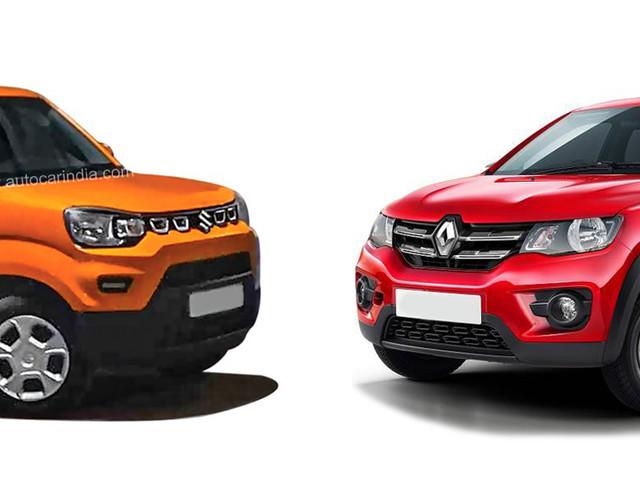 Maruti Suzuki S-Presso vs Renault Kwid: Specifications comparison