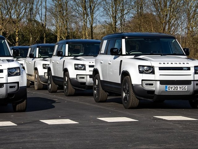 Over 50 Land Rover Defender SUVs deployed to aid in the fight against coronavirus