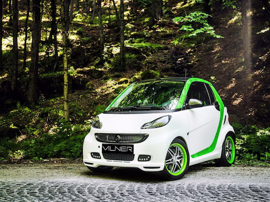 Tuned Smart ForTwo Stuffs Lots of Luxury Into a Tiny Package