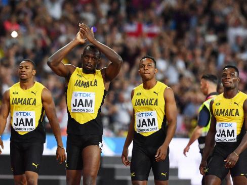 Gatlin hails Bolt the 'showman' despite relay flop
