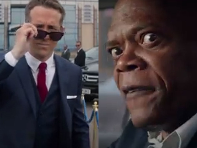 Ryan Reynolds Protects Samuel L. Jackson in 'Hitman's Bodyguard' Trailer (Video)
