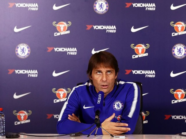 Conte rubbishes Chelsea exit rumors, clarifies position regarding happiness and future