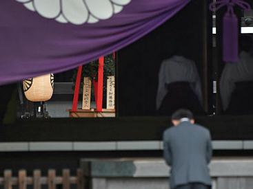 Japan PM Abe sends offering to war shrine