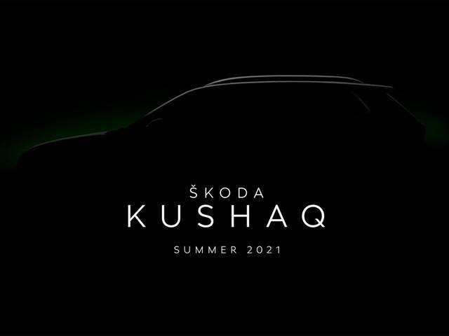 Skoda Vision IN SUV christened Kushaq