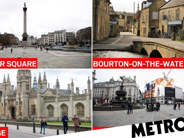 Tourist hotspots deserted in London as number of cases hits 373