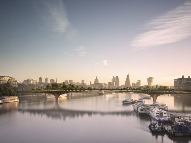 London's Garden Bridge project officially abandoned