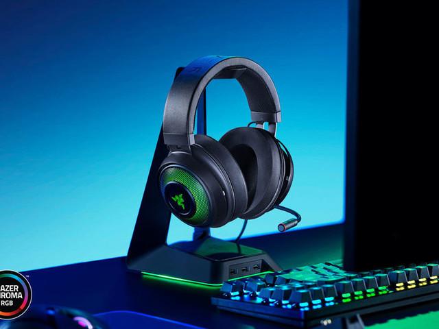 Sound-Optimized Gaming Headsets - Razer's Kraken Ultimate Headset Features 3D Audio Capabilities (TrendHunter.com)