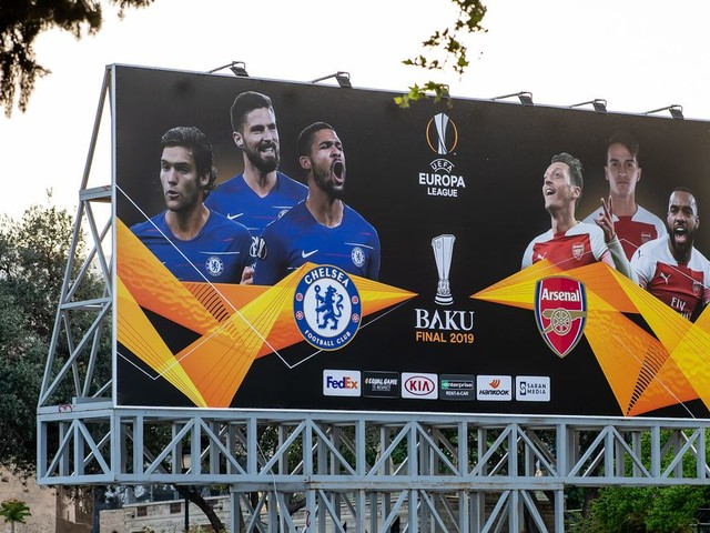 Chelsea, Arsenal to return half of already meagre Europa League final ticket allocation — report