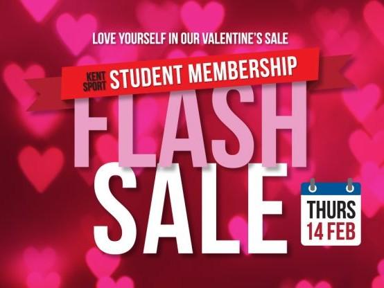 Valentine's flash sale