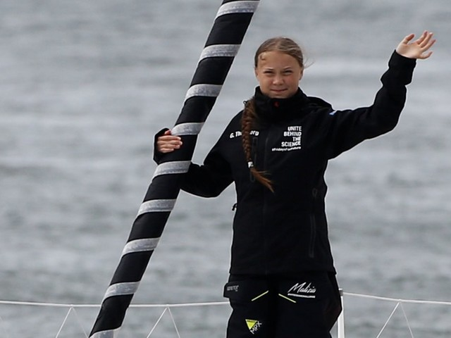16-year-old Greta Thunberg is sailing 13 days across the Atlantic to speak at a climate conference in New York. Here's why she won't just dial in.