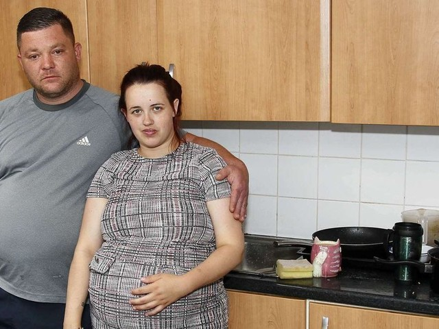 Family evicted from council house for buying takeaways while not paying their rent