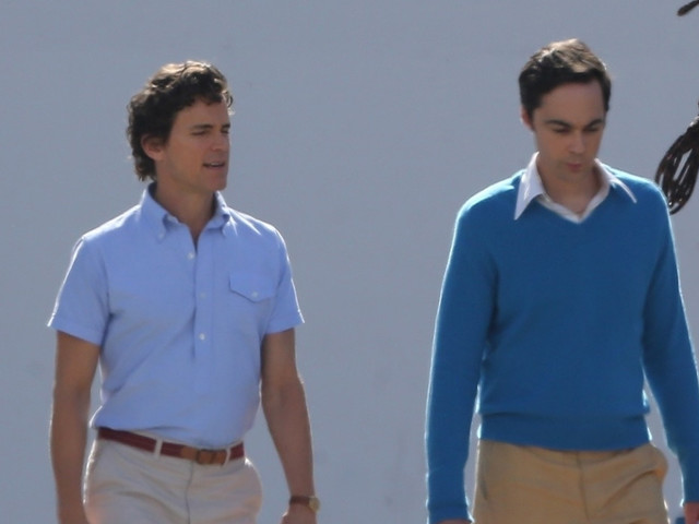 Matt Bomer, Jim Parsons, & More Get to Work on 'The Boys in the Band' Movie!