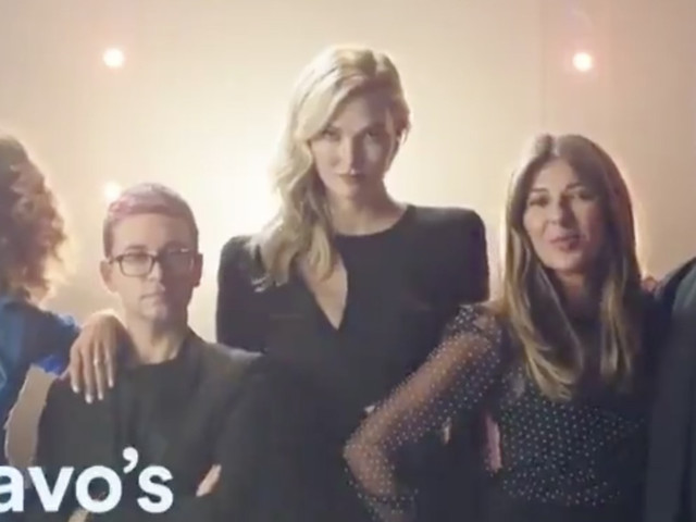 Karlie Kloss and Christian Siriano Look Cut From Heidi and Tim Cloth in New Project Runway Promo
