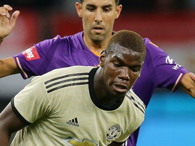 Man Utd dig heels in over Paul Pogba's potential transfer to Real Madrid