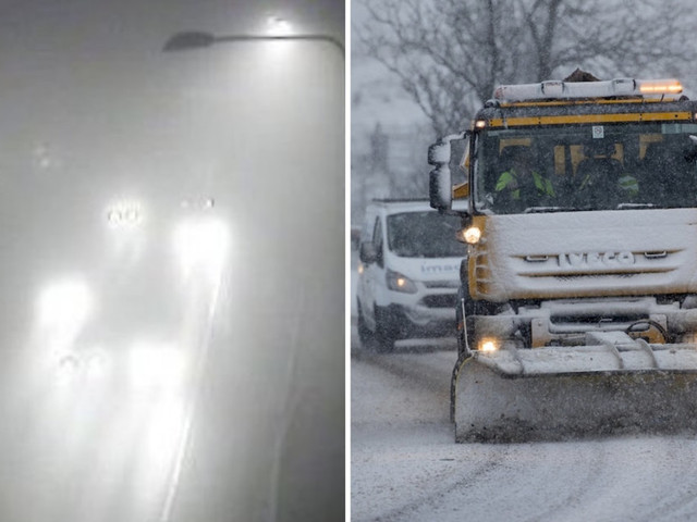 UK Weather: Met Office Warns Of Freezing Fog On Coldest Morning Of Winter So Far