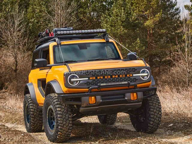 Ford Bronco SUV 4×4 debuts with EcoBoost engine and 7 speed MT